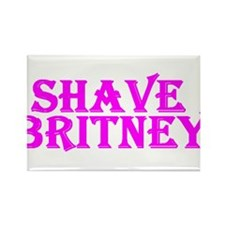 Shave Britney Rectangle Magnet