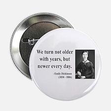"""Emily Dickinson 15 2.25"""" Button"""