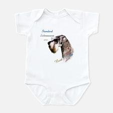 Std. Schnauzer Best Friend 1 Infant Bodysuit