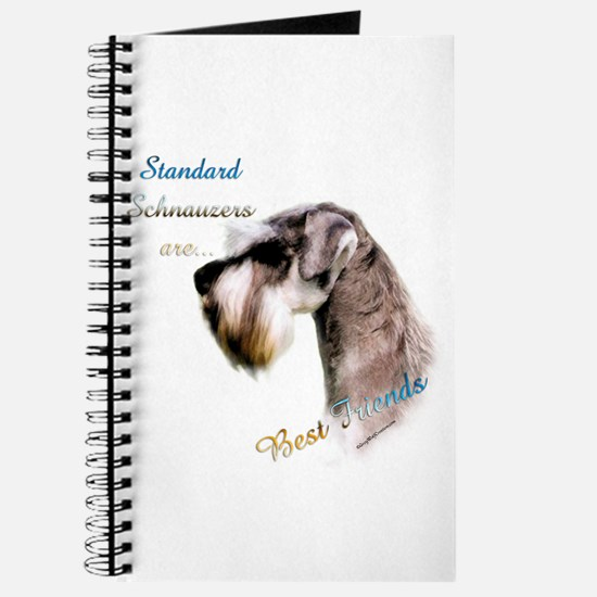 Std. Schnauzer Best Friend 1 Journal