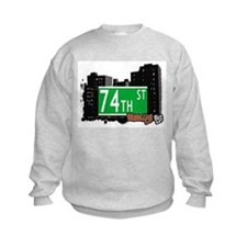 74th STREET, BROOKLYN, NYC Sweatshirt