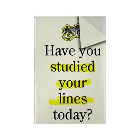 Study Lines Magnet (100 pack)