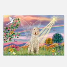 Cloud Angel /Spinone(11) (w) Postcards (Package of