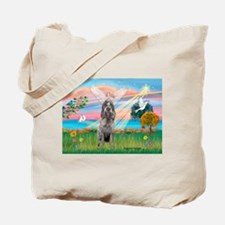 Angel Star /Spinone (12) (r) Tote Bag