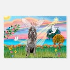 Angel Star /Spinone (12) (r) Postcards (Package of