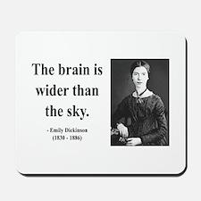 Emily Dickinson 14 Mousepad