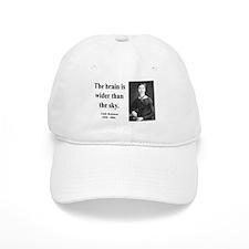 Emily Dickinson 14 Baseball Cap