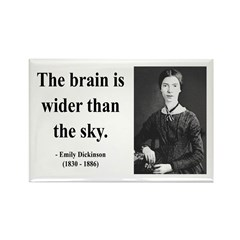 Emily Dickinson 14 Rectangle Magnet (10 pack)