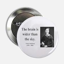 """Emily Dickinson 14 2.25"""" Button"""