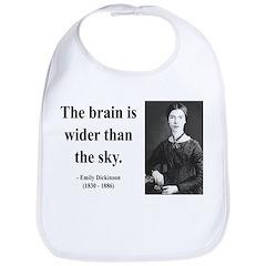 Emily Dickinson 14 Bib