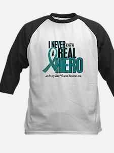 Never Knew A Hero 2 Teal (Best Friend) Tee