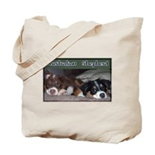 Cute Australian shepherd Tote Bag