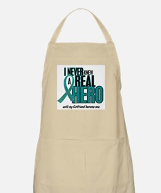 Never Knew A Hero 2 Teal (Girlfriend) BBQ Apron