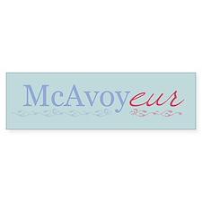 McAvoy - Bumper Bumper Sticker