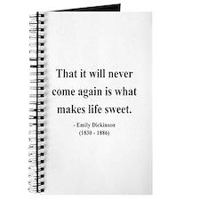 Emily Dickinson 12 Journal