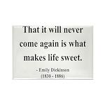 Emily Dickinson 12 Rectangle Magnet (10 pack)