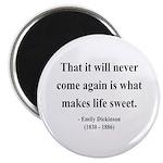Emily Dickinson 12 Magnet