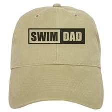 Swim Dad Baseball Baseball Cap