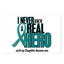 Never Knew A Hero 2 Teal (Daughter) Postcards (Pac