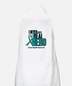 Never Knew A Hero 2 Teal (Daughter) BBQ Apron