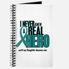 Never Knew A Hero 2 Teal (Daughter) Journal
