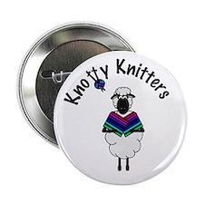 Knotty knitter button