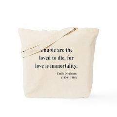 Emily Dickinson 11 Tote Bag