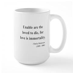 Emily Dickinson 11 Large Mug