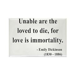 Emily Dickinson 11 Rectangle Magnet
