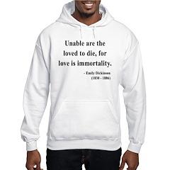 Emily Dickinson 11 Hooded Sweatshirt