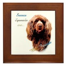 Sussex Best Friend 1 Framed Tile