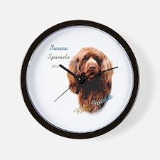 Sussex Best Friend 1 Wall Clock
