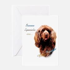 Sussex Best Friend 1 Greeting Card