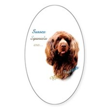 Sussex Best Friend 1 Oval Decal