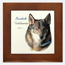Vallhund Best Friend 1 Framed Tile