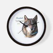 Vallhund Best Friend 1 Wall Clock