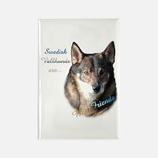 Vallhund Best Friend 1 Rectangle Magnet