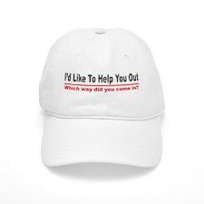 I like to help you out Baseball Cap