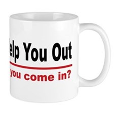 I like to help you out Small Mug