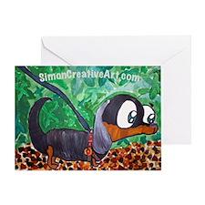 Simon's Holden Greeting Card