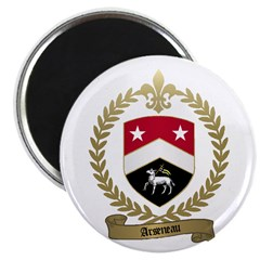 ARSENEAU Family Crest Magnet