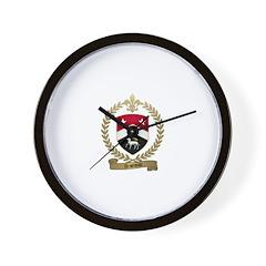 ARSENEAU Family Crest Wall Clock