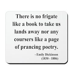 Emily Dickinson 10 Mousepad