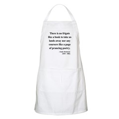 Emily Dickinson 10 BBQ Apron