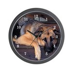 Lounging GSD Wall Clock