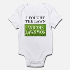 I FOUGHT THE LAWN Onesie