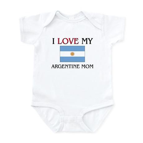 I Love My Argentine Mom Infant Bodysuit