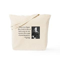 Emily Dickinson 10 Tote Bag