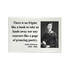 Emily Dickinson 10 Rectangle Magnet (10 pack)