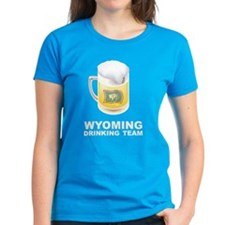 Wyoming Drinking Team Tee